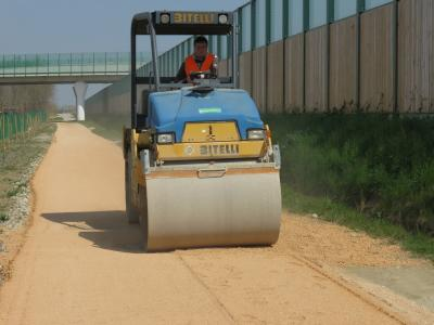 STABILPAVE-treated inert compaction