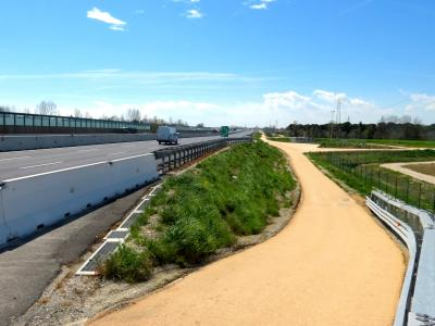STABILPAVE-treated highway in Casale sul Sile (Italy)