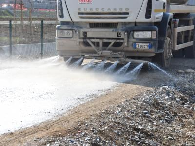 STABILPAVE application to protect stabilization through cement
